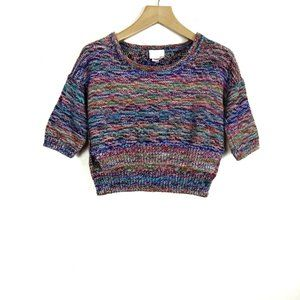 Aritzia Wilfred le fou Masako Cropped Sweater